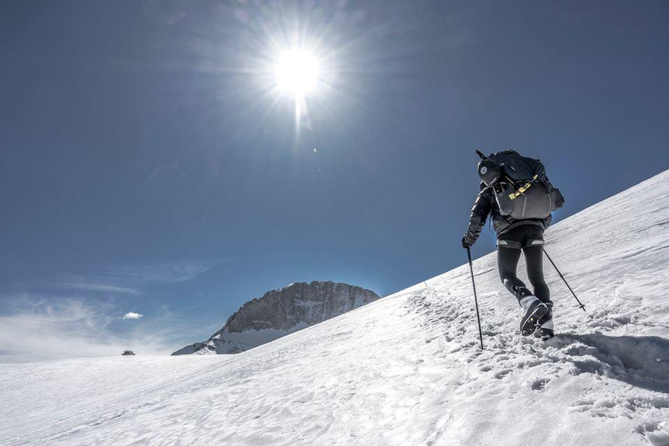 Mt Olympus in winter