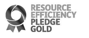 Resource Efficiency Pledge Gold