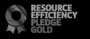 Resource Efficiency Pledge Gold