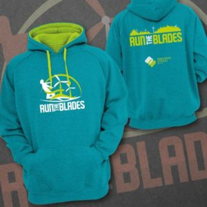 Run the Blades hoodie