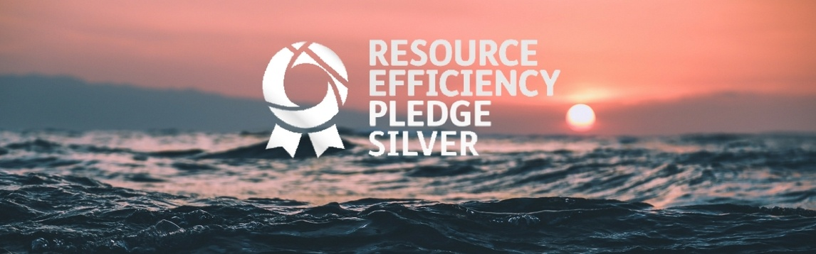 Resource Efficiency Pledge Silver